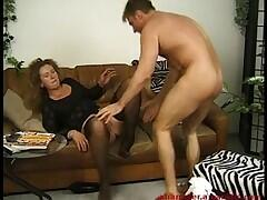 Hot chubby MILF secretary fucked hard by her boss