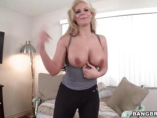Oiled big ass Phoenix Marie takes huge cock doggystyle